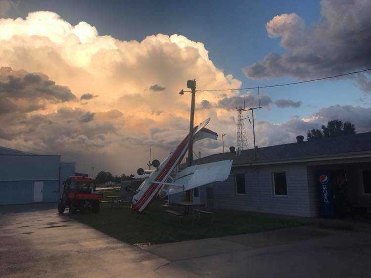 Storm damages areas of Poplar Bluff