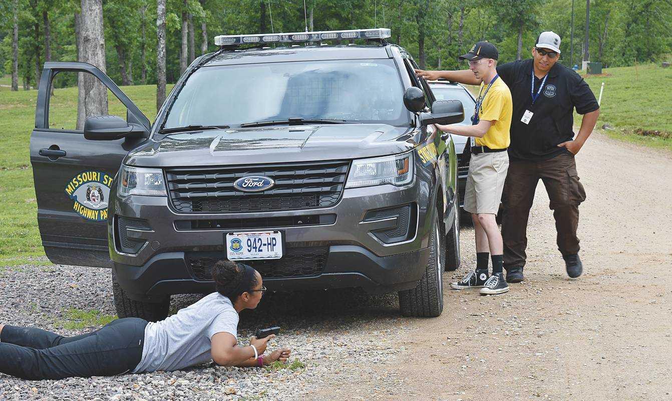 Photo gallery: Missouri State Highway Patrol Youth Academy